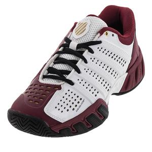 Juniors` Bigshot Light 2.5 Tennis Shoes White and Biking Red
