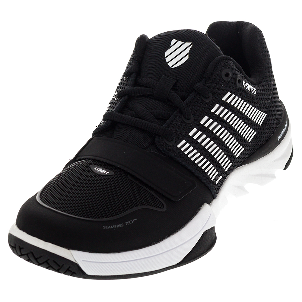 Men's X Court Tennis Shoes Black And White