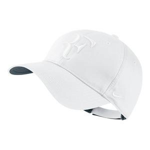 Men`s Roger Federer Hybrid Tennis Cap White