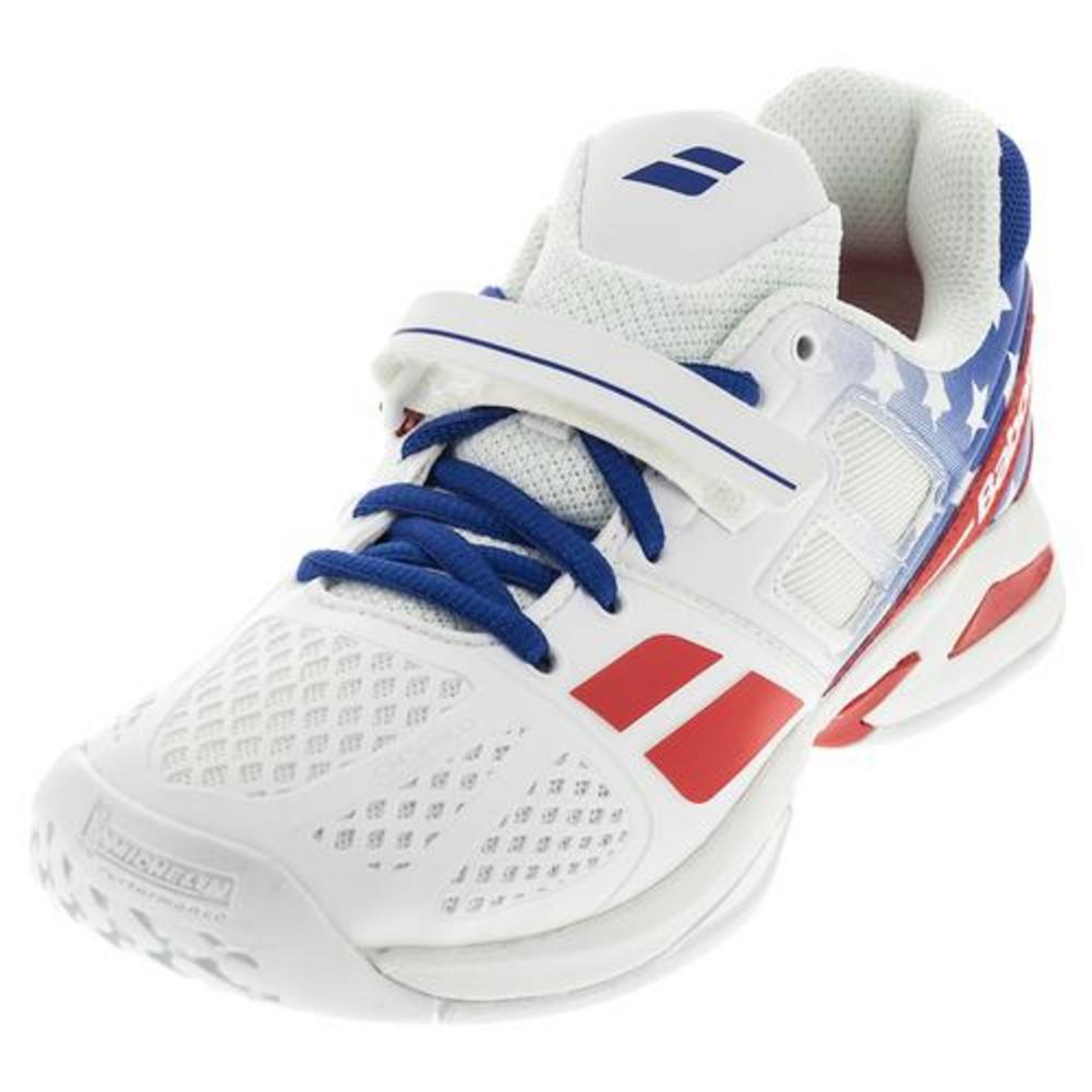 Juniors ` Propulse Tennis Shoes Stars And Stripes