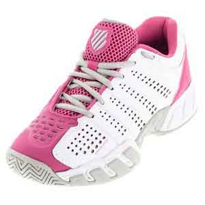 Women`s BigShot Light 2.5 Tennis Shoes White and Shocking Pink