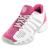 Women`s BigShot Light 2.5 Tennis Shoes White and Shocking Pink by K-SWISS