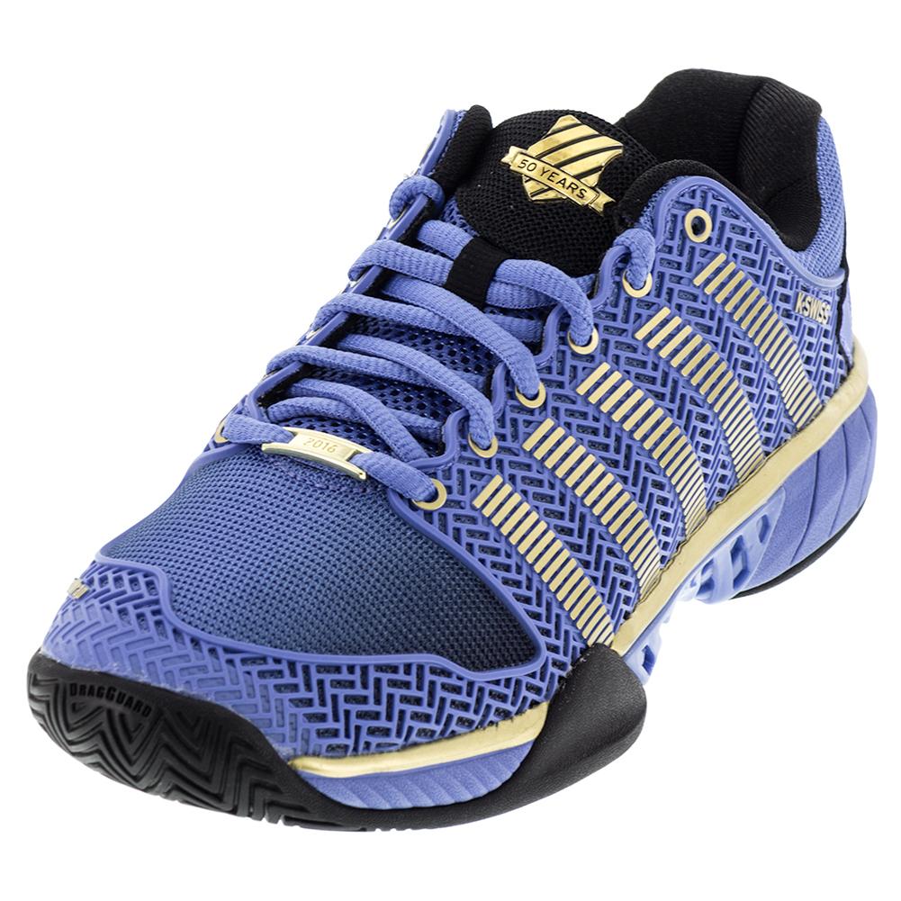 Women's Hypercourt Express 50th Tennis Shoes Ultramarine And Gold