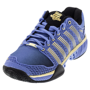 Women`s Hypercourt Express 50th Tennis Shoes Ultramarine and Gold