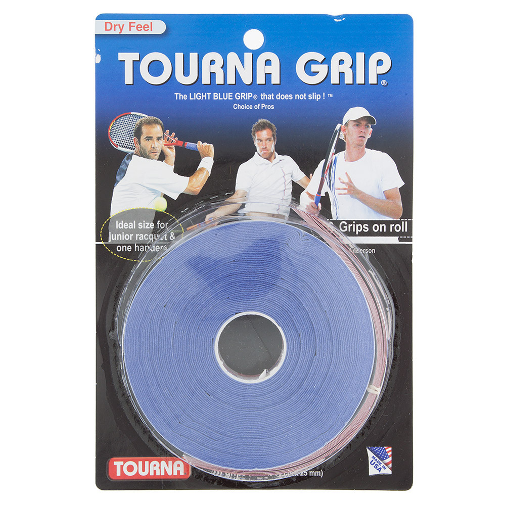 Tourna Grip 10 Grip Pack Blue