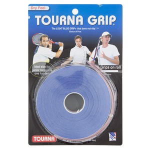 Tourna Grip 10 Grip Pack Blue