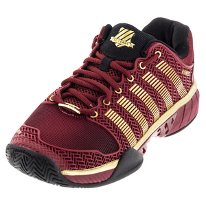 Men`s Hypercourt Express 50th Tennis Shoes Biking Red and Black
