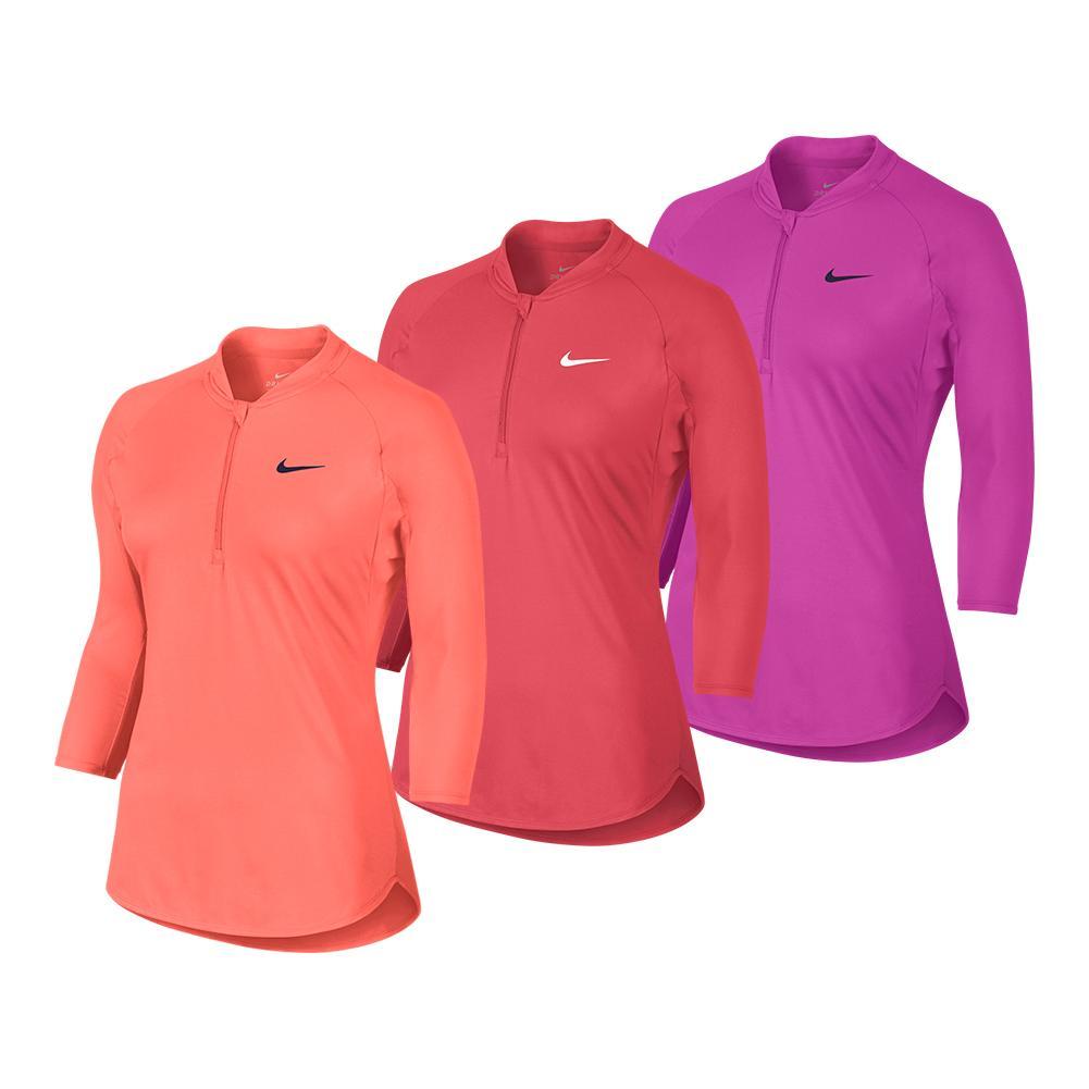 Women's Court Long Sleeve Dry Tennis Top