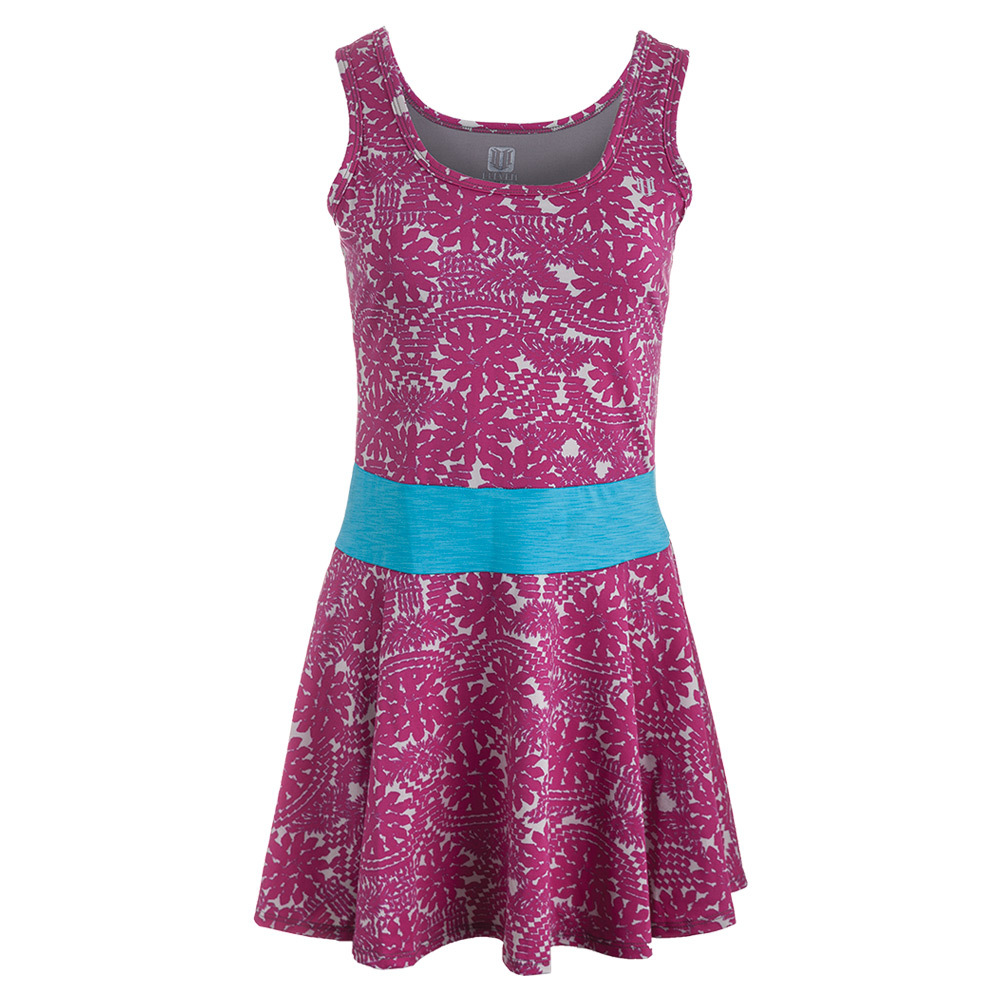 Women's Frontrunner Tennis Dress Dahlia Print