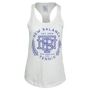 Women`s Crest Racerback Tennis Tank