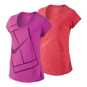 Women`s Baseline Practice Tennis Top