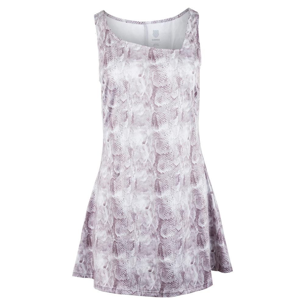 Women's Sideline Tennis Dress Taupe Print
