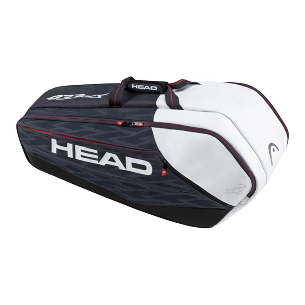 Djokovic Supercombi Tennis Bag Navy And Black