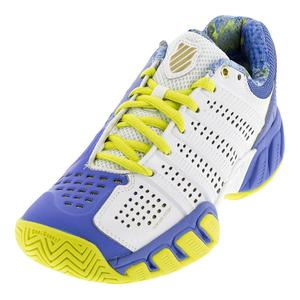 Juniors` Bigshot Light 2.5 Tennis Shoes White and Ultramarine