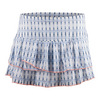 LUCKY IN LOVE Women`s Ditsy Tie-Dye Pleated Tennis Skort Print
