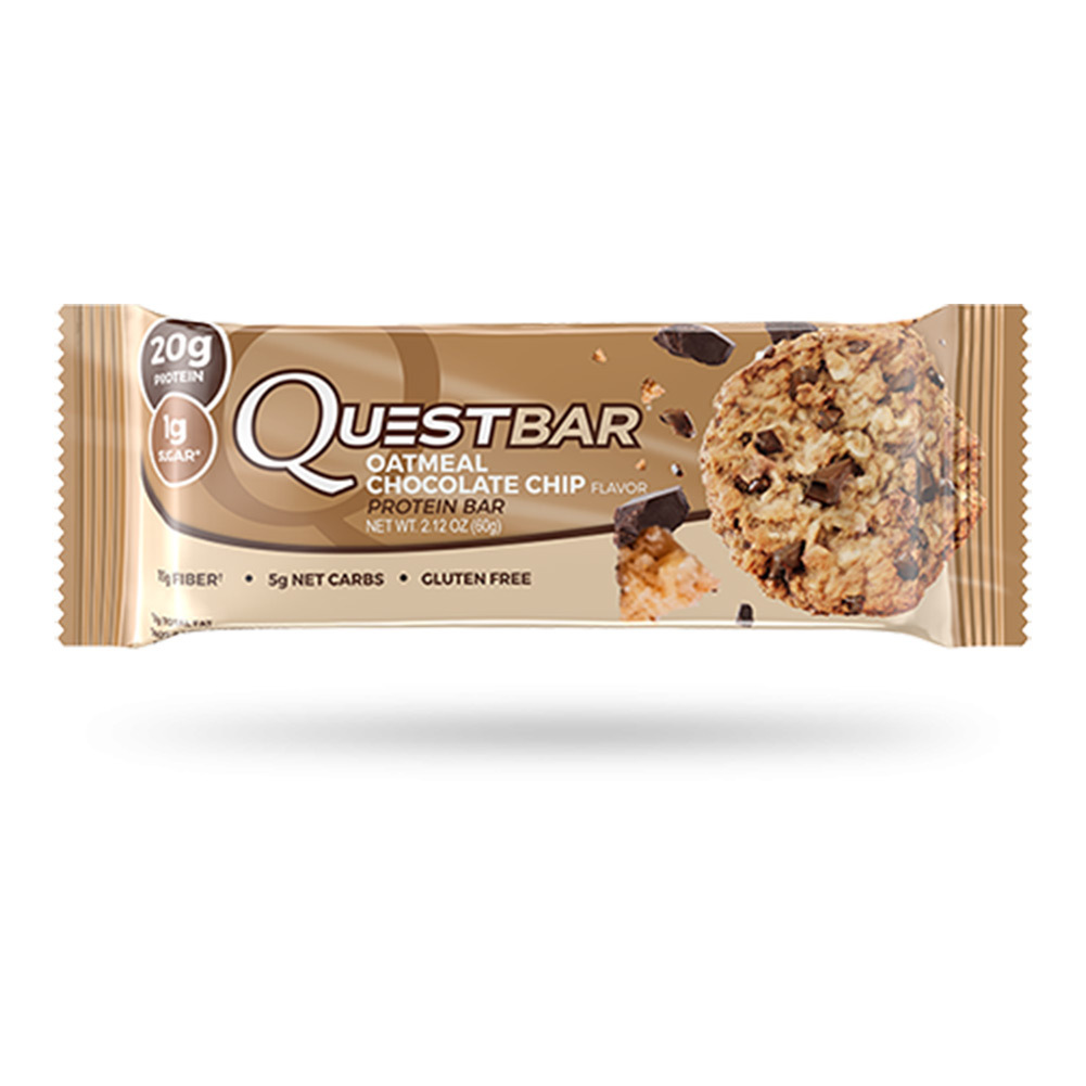 Oatmeal Chocolate Chip Protein Bar
