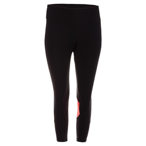 Women`s Platinum 3/4 Length Tight Black
