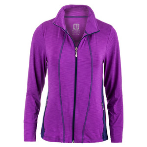 Women`s Love Tennis Jacket Fushia