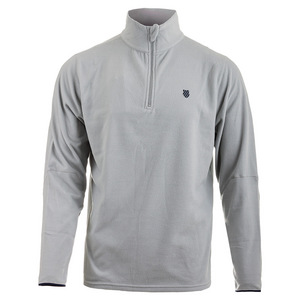 Men`s Long Sleeve Tennis Pullover Dawn Blue