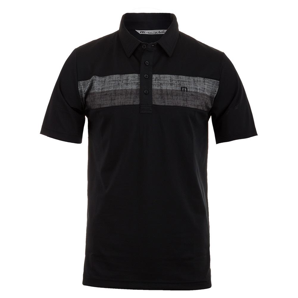 Men's Rockwell Tennis Polo Black