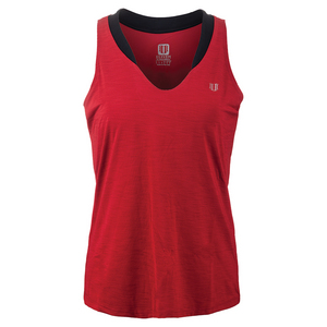Women`s Love Tennis Tank Tango Red