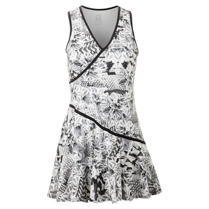 Women`s Love Letter Tennis Dress Casablanca Print