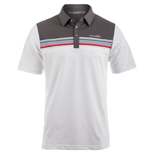 Men`s Billy Joe Tennis Polo White