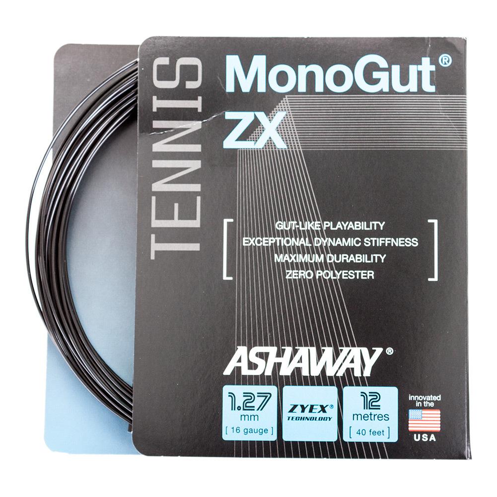 Monogut Zx 1.27/16g Tennis String Black
