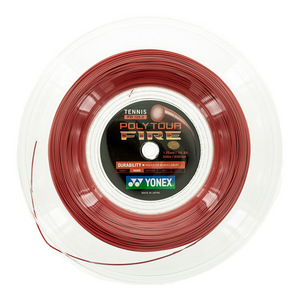 Poly Tour Fire 125/16L Tennis String Reel Red