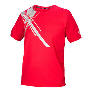 Men`s Pauldron Match Tennis Crew Red