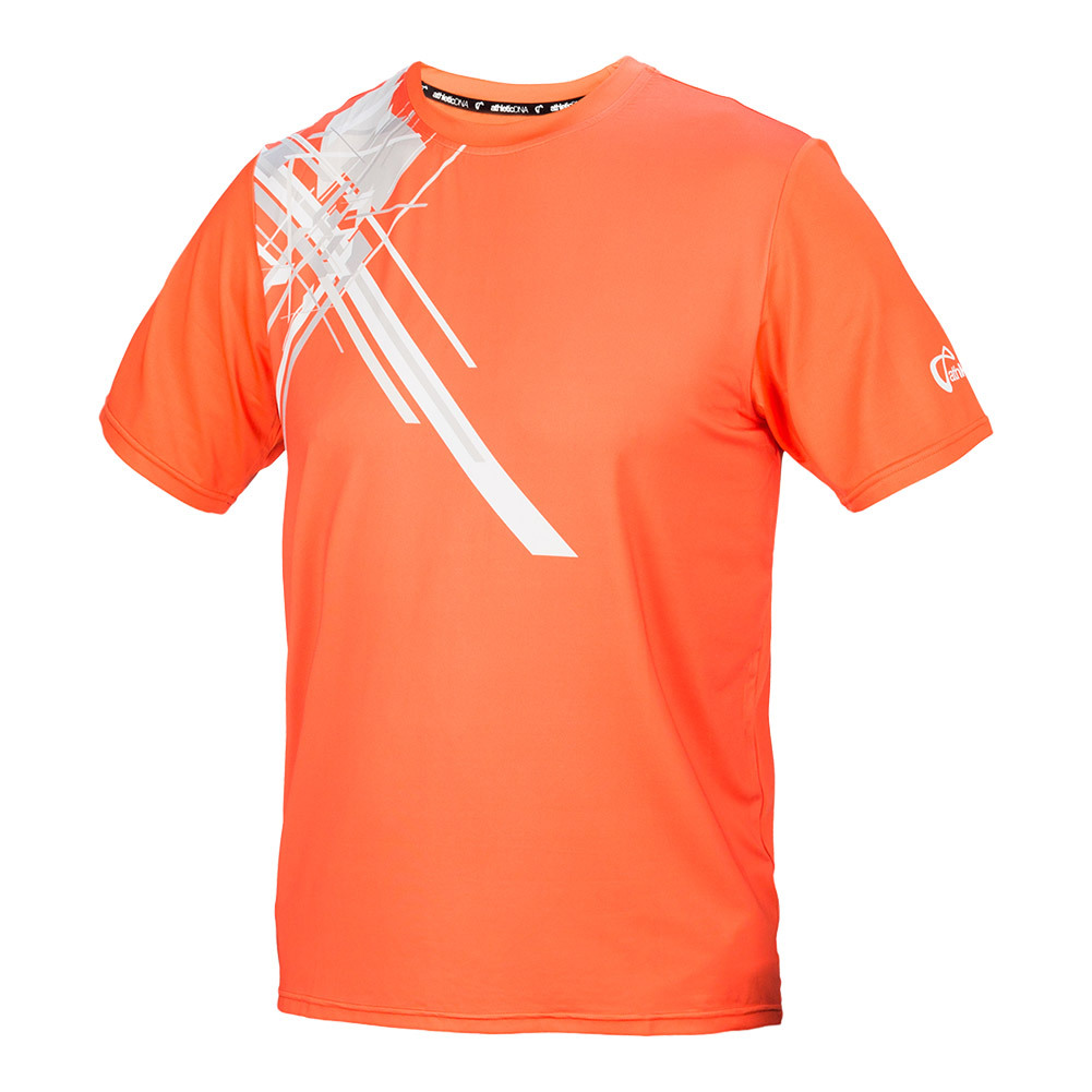 Men's Pauldron Match Tennis Crew Orange