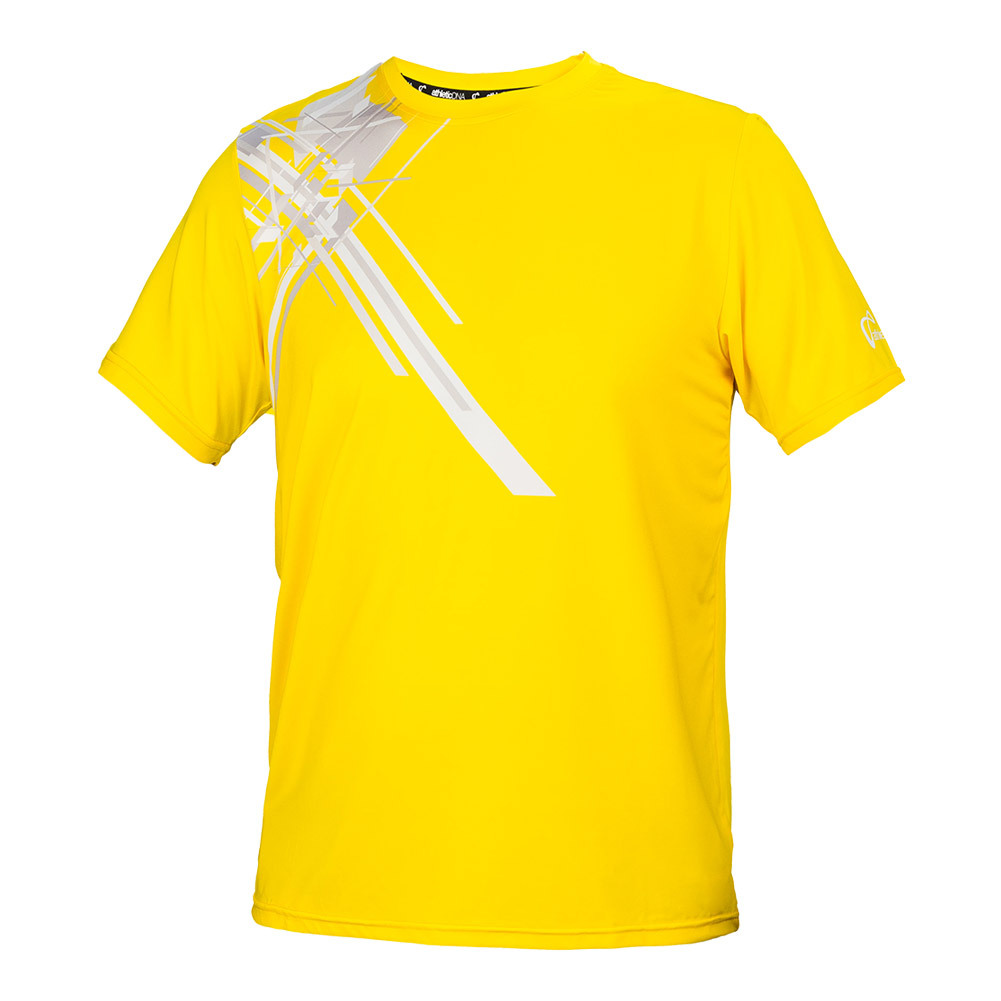 Men's Pauldron Match Tennis Crew Gold
