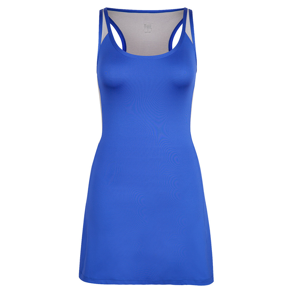 Women's Caralee Tennis Dress Saint Tropez And Heather