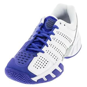 Juniors` BigShot Light 2.5 Tennis Shoes White and Electric Blue