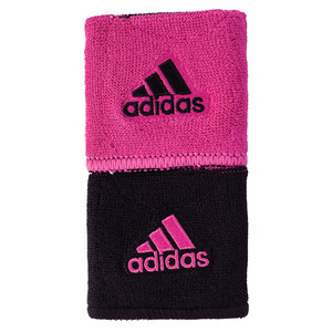 Interval Reversible Wristband Black and Intense Pink