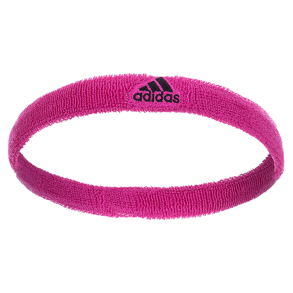 Interval Slim Headband Intense Pink And Black