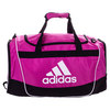 ADIDAS Defender II Small Duffel Bag Intense Pink