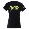 WILSON Women`s NYC Graphic Tennis Tee Black