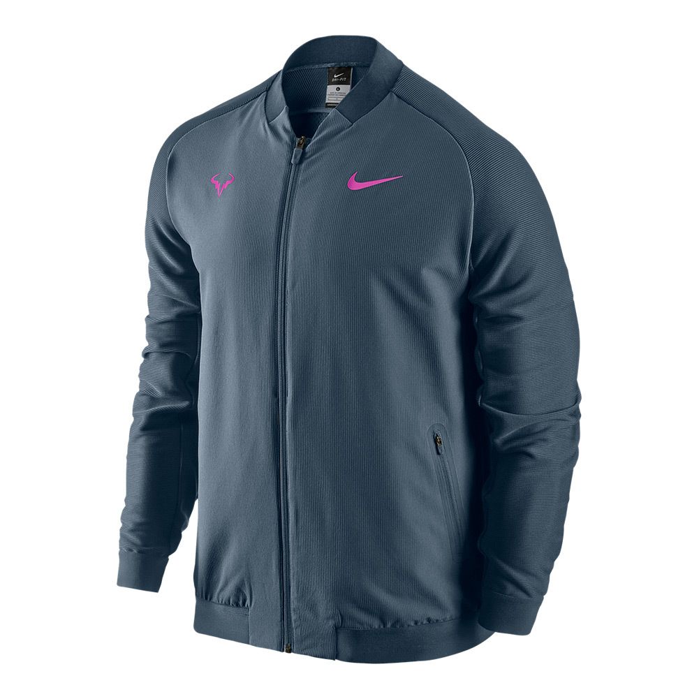 Men's Rafa Premier Tennis Jacket Squadron Blue