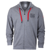 WILSON Men`s Full Zip NYC Tennis Hoody Heather Gray
