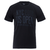 WILSON Men`s Tech NYC Tennis Tee Black