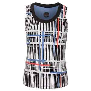 Women`s Seraphina Graphic Tennis Tank Print