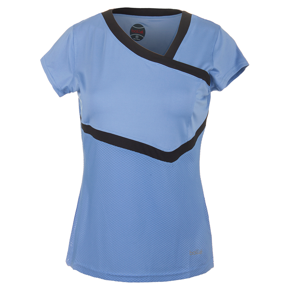 Women's Seraphina Cap Sleeve Tennis Top Periwinkle