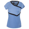 BOLLE Women`s Seraphina Cap Sleeve Tennis Top Periwinkle
