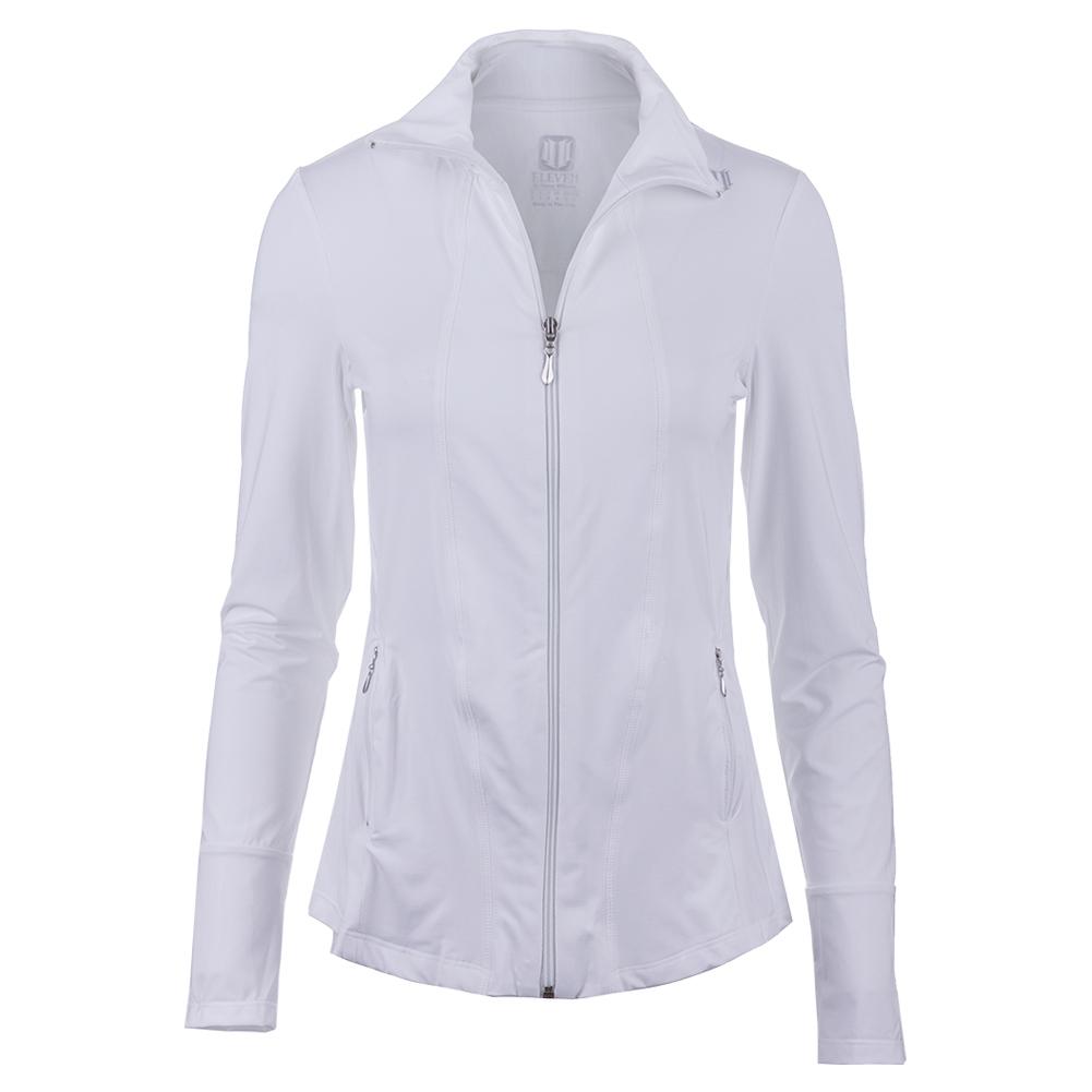 Women's Love Tennis Jacket White