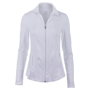 Women`s Love Tennis Jacket White