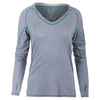 SOLFIRE Women`s Cut it Out Tennis Hoodie Gray Heather