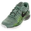 NIKE Men`s Zoom Vapor Flyknit Tennis Shoes Cannon and Black