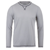 Men`s Stoked Waffle Long Sleeve Top 036_HIGHRISE/PEWTER