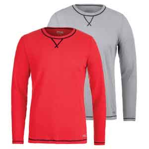 Men`s Stoked Waffle Long Sleeve Top